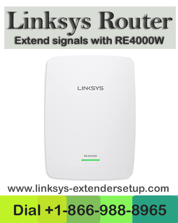 Linksys Re4000w Setup
