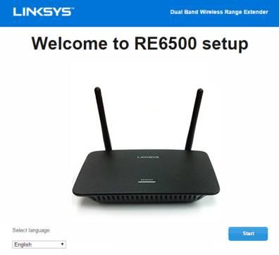 Linksys RE6500 Setup