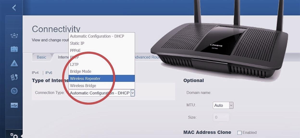 Linksys EA6900 as a Linksys Wifi Extender